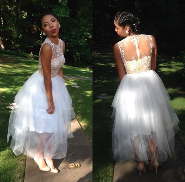 Custom Made Prom Dress - Ocodea.com